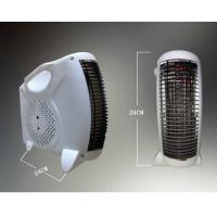 electrical heater with fan inside thermostat control new pp plastic