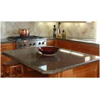 Buy cheap GIGA brown granite kitchen top from wholesalers