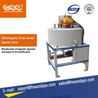 Cheap ISO Approved Waste Tire Recycling Dry Powder Magnetic Iron Separator Energy Saving. for sale
