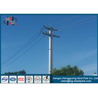China Electric Telescoping Transmission Pole For Power Transmission , Long Life on sale