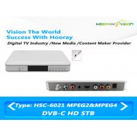 Cheap Cardless HD MPEG-4 DVB C 1080p Set Top Box With Hisilicon Chipset Support PVR wholesale