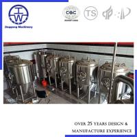 Cheap Glycol Cooling Jacket Beer Fermentation Tank 500L 1000L Micro Brewery Fermenter for sale