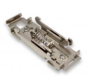 Quality 25mm Width Metal DIN Rail Mounting Brackets Clip onto 35mm Din Rail wholesale