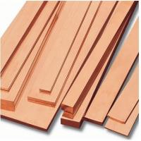 Cheap Professional ASTM / JIS , Din 80 - 400mm Copper Flat Bar For Conveyors , Port Cranes wholesale