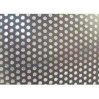 China Stain Black Decorative Perforated Aluminum Sheet 1.6mm - 2mm Thickness on sale