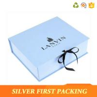China Silver First custom decorative book shaped paper storage design gift boxes  with magnetic closure on sale