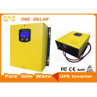 Cheap 50 / 60Hz Off Grid Solar Inverter Online With UPS Function 220V 110V Wall Mounted wholesale