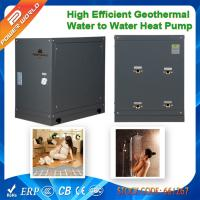 Cheap Portable 8.2kw Mini Geothermy Water to Water Heater Pumps to Heated Floor or Residential Hot Water for sale