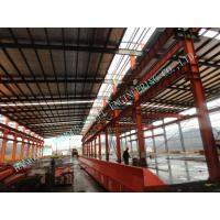 Cheap Garments ASTM Steel Framed Buildings , Prefab 82 X 100 Light Industrial Steel Workshop for sale