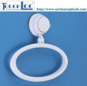 Cheap Bathroom/Kitchen Suction Fix Chrome Hand Towel Ring - (DG-SF1012C) for sale