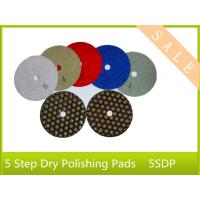 China power part tool 5 step wet polishing pad for stone, good quality , high performance on sale