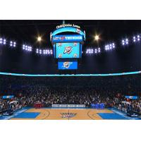 Cheap Basketball Scoreboard Video Cube Screen P3 3mm , Full Color 3D LED Display for sale