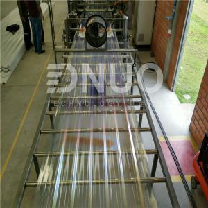 China Intelligent  Automatic FRP GRP fiberglass lighting sheet making machine on sale
