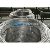 Cheap Chemical Injection Seamless ASTM A269 Stainless Steel Tubing Line / Seamless Coiled Tubing for sale