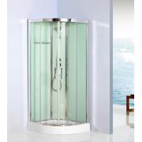 Curved corner shower units free standing shower cubicles - Corner shower units for small bathrooms ...