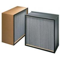 Cheap ZS-GW-9151 Mini pleat hepa filter h14 for HVAC system for sale