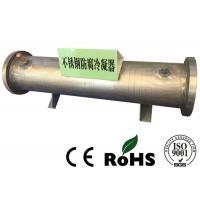 R134a Refrigerant Stainless Steel Heat Exchanger Sea Water Tube Medium