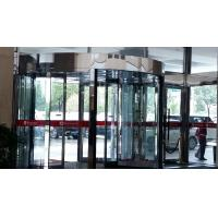 Cheap Hotel Entrance 2-wing  Rotating Door with Induction Revolving and Emergency Stop functions for sale