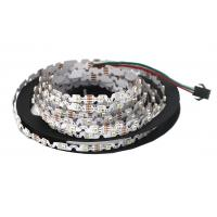 Cheap S Shape 6mm Width Flexible LED Strip Lights SMD 3528 Built In IC P923F WS2811 RGB for sale