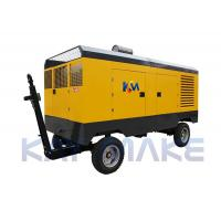 Cheap Steel Diesel Driven Air Compressor For Abrasive Blasting 2 Years Warranty for sale