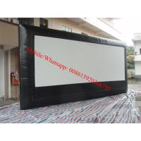 Cheap inflatable projection screen inflatable projection screen pvc matt white projection screen for sale