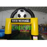 Buy cheap PVC Customized Inflatable Advertising Arch By Hot Air Welded from Wholesalers