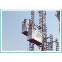 Double Cage Passenger And Material Hoist 2700kg Construction Elevator