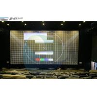 Cheap Intelligent Control 3D Cinema System With Dynamic Theater Film, Digital Screen for sale
