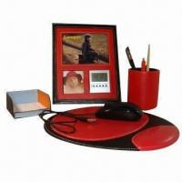 Cheap Business Gift Set, Made of PU Leather for sale