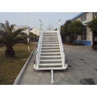 Cheap White Aircraft Stairs With Passengers And Cargo HFFKT1023 Long Life Span for sale