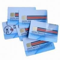 Cheap IC cards/smart cards/chip cards, used in banks and traffic for sale