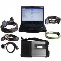 Quality [EU Ship No Tax] Mercedes Benz SD C5 Star Diagnostic Tools with Panasonic CF52 Laptop & Software Installed Ready to Use wholesale