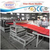 Cheap Polycarbonate Corrugated Roof Sheeting Machine Plastic Extrusion Line Width 1000mm for sale
