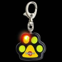Cheap ABS Plastic Reflective Flashing bling bling pet tag for sale