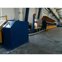 Cheap Fully Automatic Straight Line Wire Drawing Machine With Double Inverter Control for sale