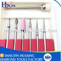2.35mm Diameter Nail Art Drill Bits For Nail Grinding Machine 7pcs / Set