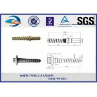 Cheap Railway Fastening System Railway Pin Screw Spikes For America Railway for sale