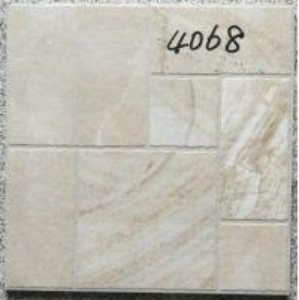 Cheap Decorative 400 X 400 White Tiles  For Bathroom Shower Non Slip Ceramic for sale