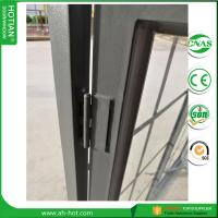Cheap China top supplier steel window design triple glazed windows double glass pane for sale