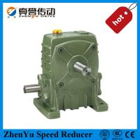 Cheap Cast Iron Worm Speed Reducer Gearbox 1400rpm , Electric Motor Speed Reducer for sale