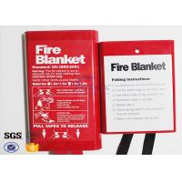 Cheap Flame Retardant Fabric Fiberglass Fire Blanket for Thermal Heat Protection for sale