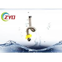 China G1/2 DN15  Stainless Steel Brass Screw 360° Flexible Corrugated Pipe Faucet Water Tube 50cm Longth on sale