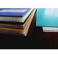 Cheap Waterproof And Lightweight Fluted Twin Wall Plastic Sheet for sale