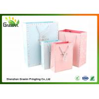 Buy cheap Fashionable Coated Printed Paper Gift Bags with Different Sizes for Customizatio from wholesalers