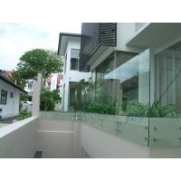 Cheap Stainless steel patch fitting / standoff glass railing for interior/ outdoor for sale