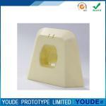 Cheap Natual Rapid Vacuum Prototyping Casting Service Machining Plastic Case In Beige for sale