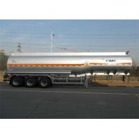 Cheap 42m3 Liquid Tank Trailers Aluminum Alloy Material Use In Pure Sulfuric Acid Transport for sale