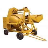 Cheap 250L Mini Diesel Concrete Mixing Machine With Hydraulic Hopper 13KW Diesel Engine for sale