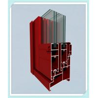 Cheap Sliding Door Window Aluminum Profile High Strength Customized Length for sale