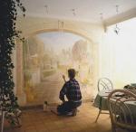 Cheap 2012 fashion design interior decorative wall coverings for sale